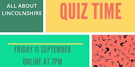 Heritage Lincolnshire Quiz Night tickets
