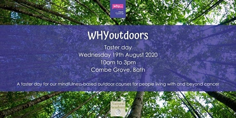 WHYoutdoors taster day - Combe Grove, Bath tickets
