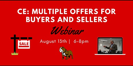 CE: Multiple Offers for Buyers and Sellers entradas
