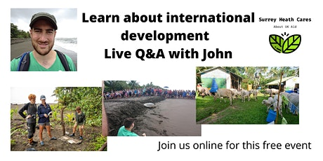 What does international development look like on the ground? tickets