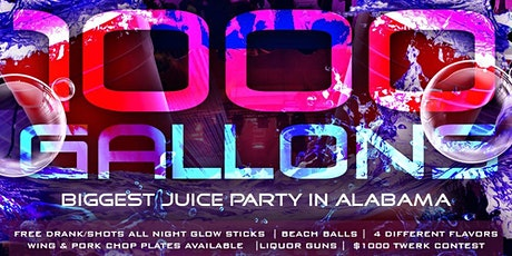 1000 Gallons tickets