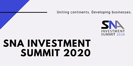SNA INVESTMENT SUMMIT 2020 - FOR INVESTMENT-SEEKERS tickets