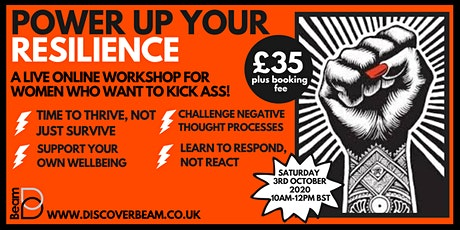 Power Up Your Resilience: Learn to Thrive, Not Just Survive tickets