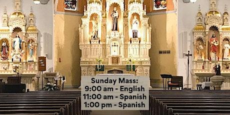 St. Anthony Parish Mass/ San Antonio Parroquia Misa tickets