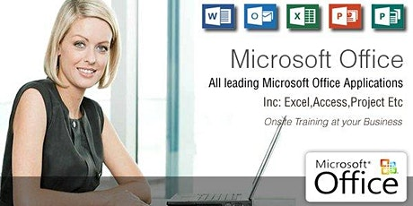Microsoft Excel Intermediate Training Course - Dublin tickets