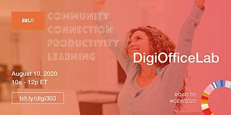 DigiOfficeLab - August 2020 tickets