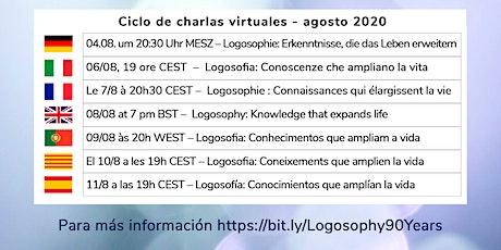 Ciclo de webinars Logosofía: 90 años de evolución consciente entradas