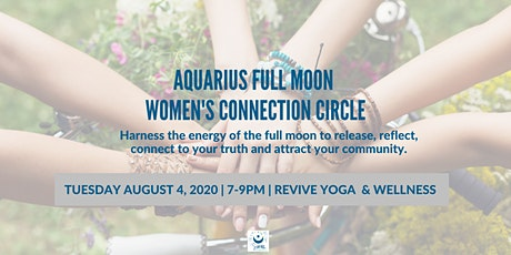 Aquarius Full Moon Women's Connection Circle tickets