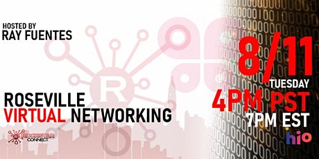 Free Roseville Rockstar Connect Networking Event (August, near Sacramento) tickets