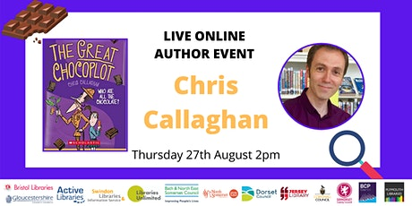 Live Online Author Event with Chris Callaghan tickets