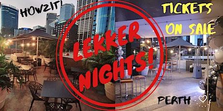 Lekker Nights @ Metro Bar & Bistro tickets