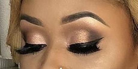 Virtual eyeshadow class (neutral eyeshadow look) tickets