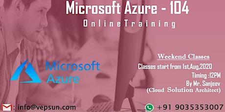 Azure weekend online batch @ Vepsun Technologies(Register free) tickets