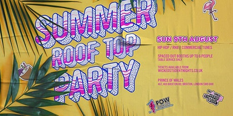 SUMMER ROOF TOP PARTY AT PRINCE OF WALES tickets