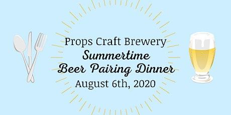 Summertime Beer Pairing Dinner tickets
