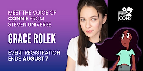Virtual Autograph Signing + Meet and Greet with Grace Rolek! tickets