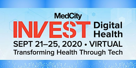 MedCity INVEST Digital Health 2020 tickets