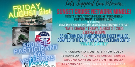 Sunset Happy Hour Network Mingle on the Dolly Steamboat tickets