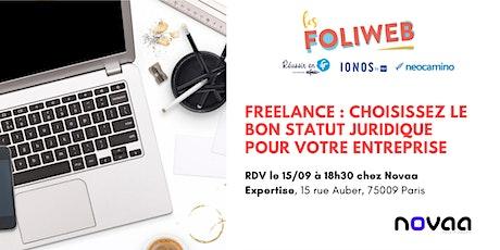 [Paris] Freelance: choisissez le bon statut juridique pour votre entreprise billets