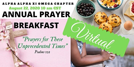 Alpha Alpha Xi Omega Annual Prayer Breakfast tickets