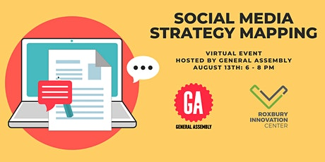Social Media Strategy Mapping workshop tickets