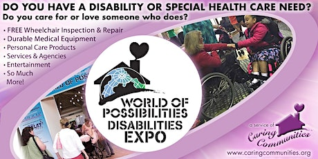 World of Possibilities disAbilities Expo - Carroll County - 2020 tickets