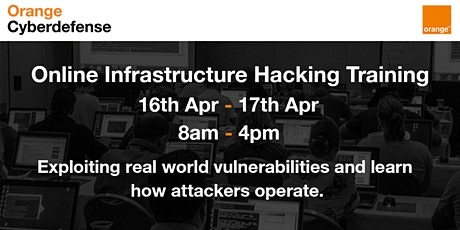 Orange Cyberdefense Trainings - Hands on Hacking 2020 tickets