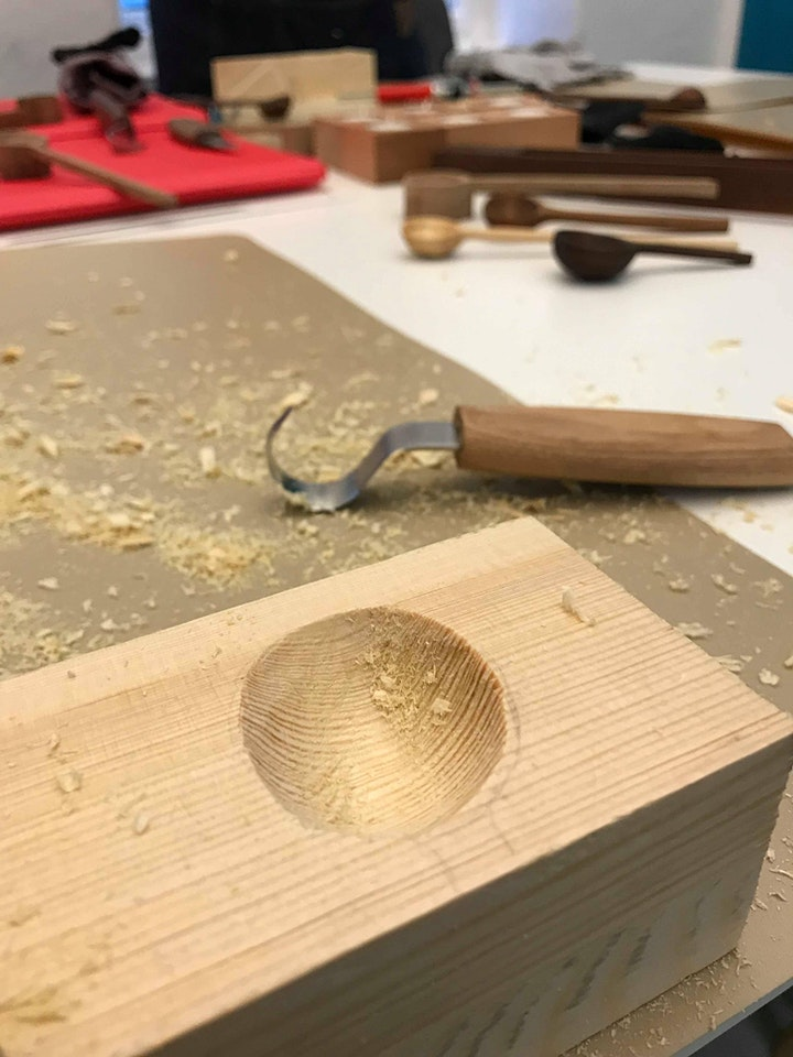 Urban Spoon Carving for Beginners image