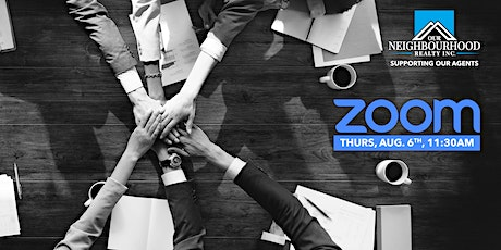 ONR Zoom Brokerage Meeting - August 6th tickets