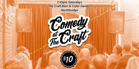 Comedy at The Craft tickets