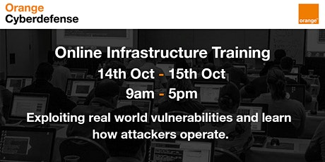 Orange Cyberdefense Trainings - Infrastructure Hacking tickets
