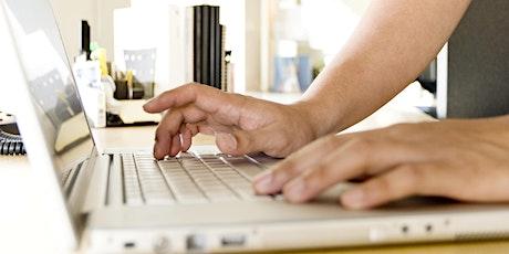 Introduction to Websites Online Workshop tickets