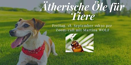 Ätherische Öle für Tiere Tickets