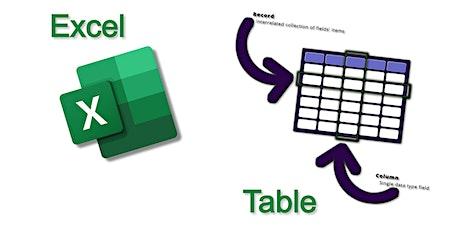 Excel Tables (Ms Excel Uganda) tickets