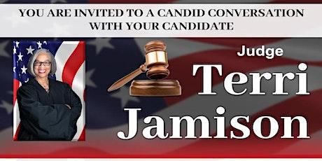 Judge Jamison's Candid Conversation tickets