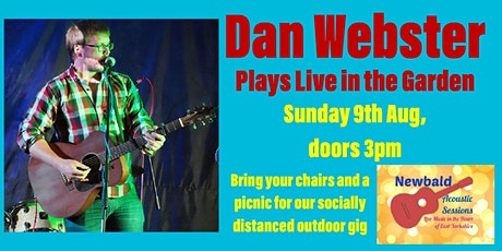 Dan Webster plays Live in the Garden tickets