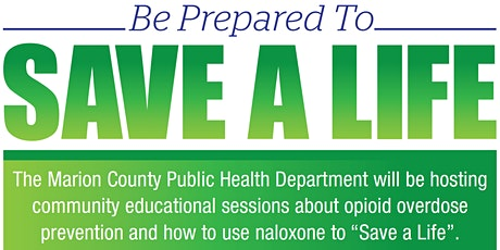WebEx Online Community Narcan Session tickets