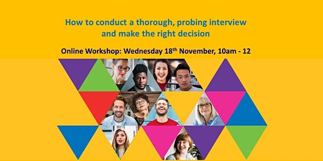 How to conduct a thorough, probing interview and make the right decision. tickets