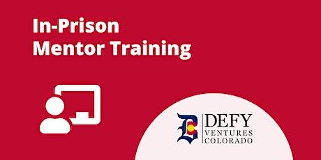 In-Prison Mentor Training tickets