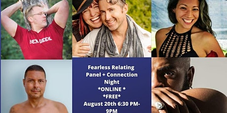 Fearless Relating Panel Online Free +Intimacy Games tickets