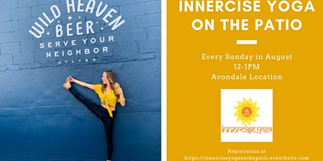 Innercise Yoga on the Patio tickets