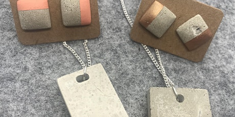 Concrete Jewellery Workshop tickets