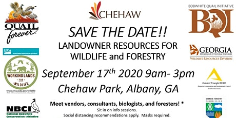Wildlife and Forestry Resources for Landowners Field Day tickets