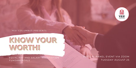 Know Your Worth! Equal Pay and Salary Negotiation Fundamentals tickets
