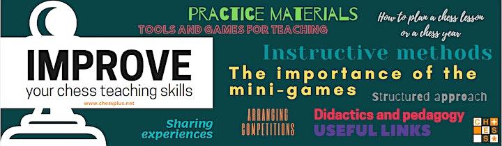 ECU101 - The SMART Method to Teach Chess - Chess Didactics image