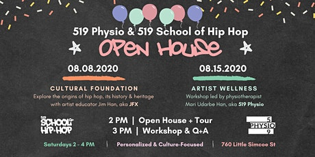 Open House | 519 Physio + 519 School of Hip Hop tickets
