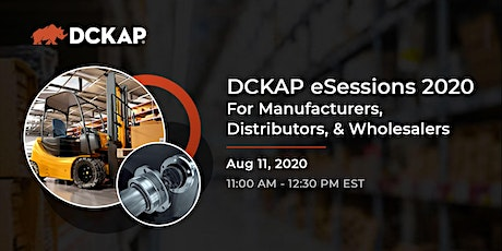 DCKAP eSessions 2020 tickets