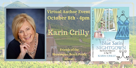 Zoom Author Event with Travel & Lifestyle Expert Karin Crilly tickets