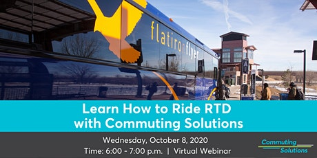 Learn How to Ride RTD with Commuting Solutions biglietti