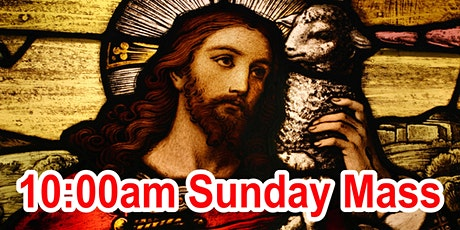 10am Sunday Mass (OUTDOOR SCHOOL PARKING AREA) tickets